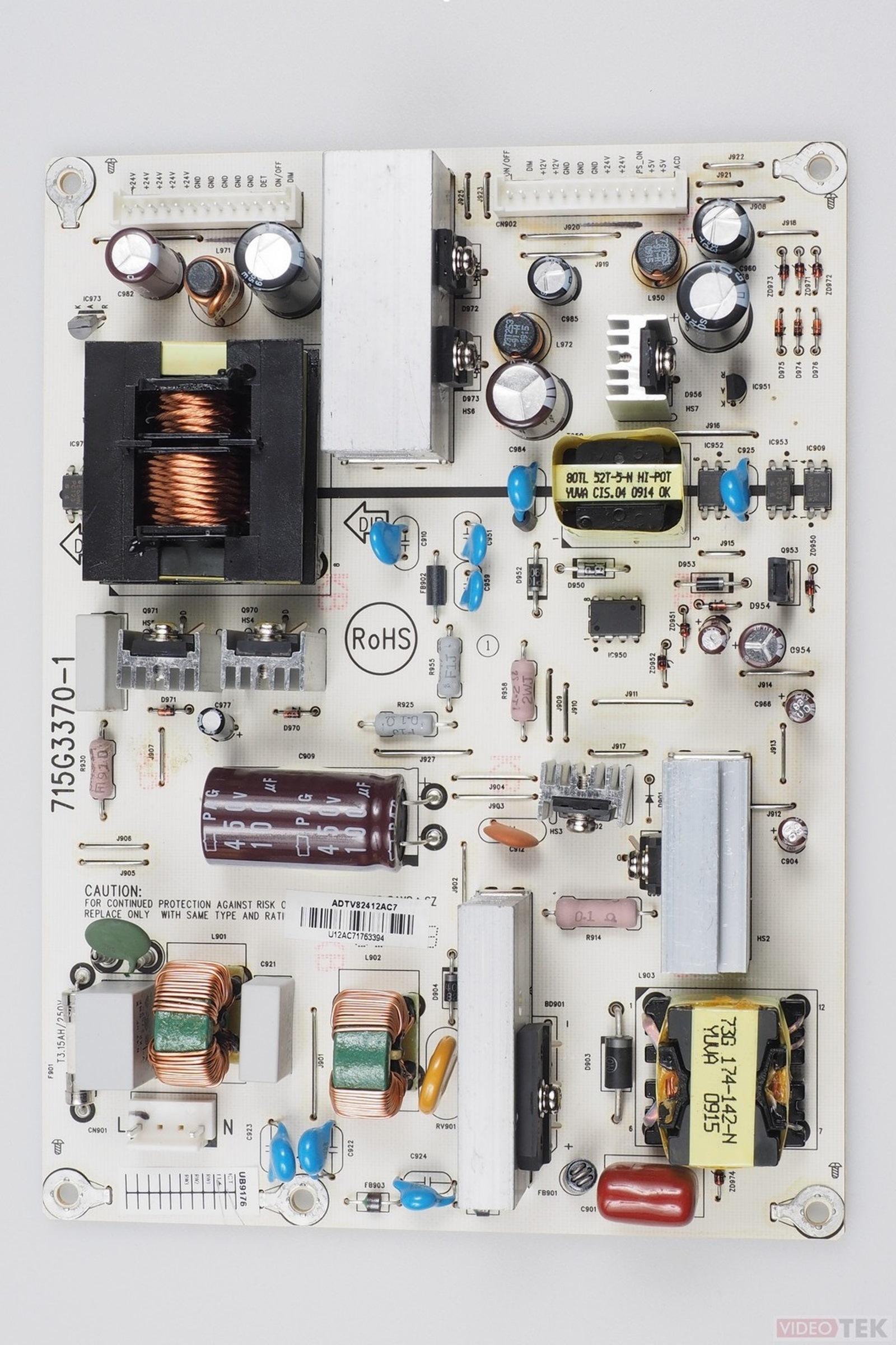 PLACA ALIMENTARE LCD TOSHIBA 715G3370-1 75015110