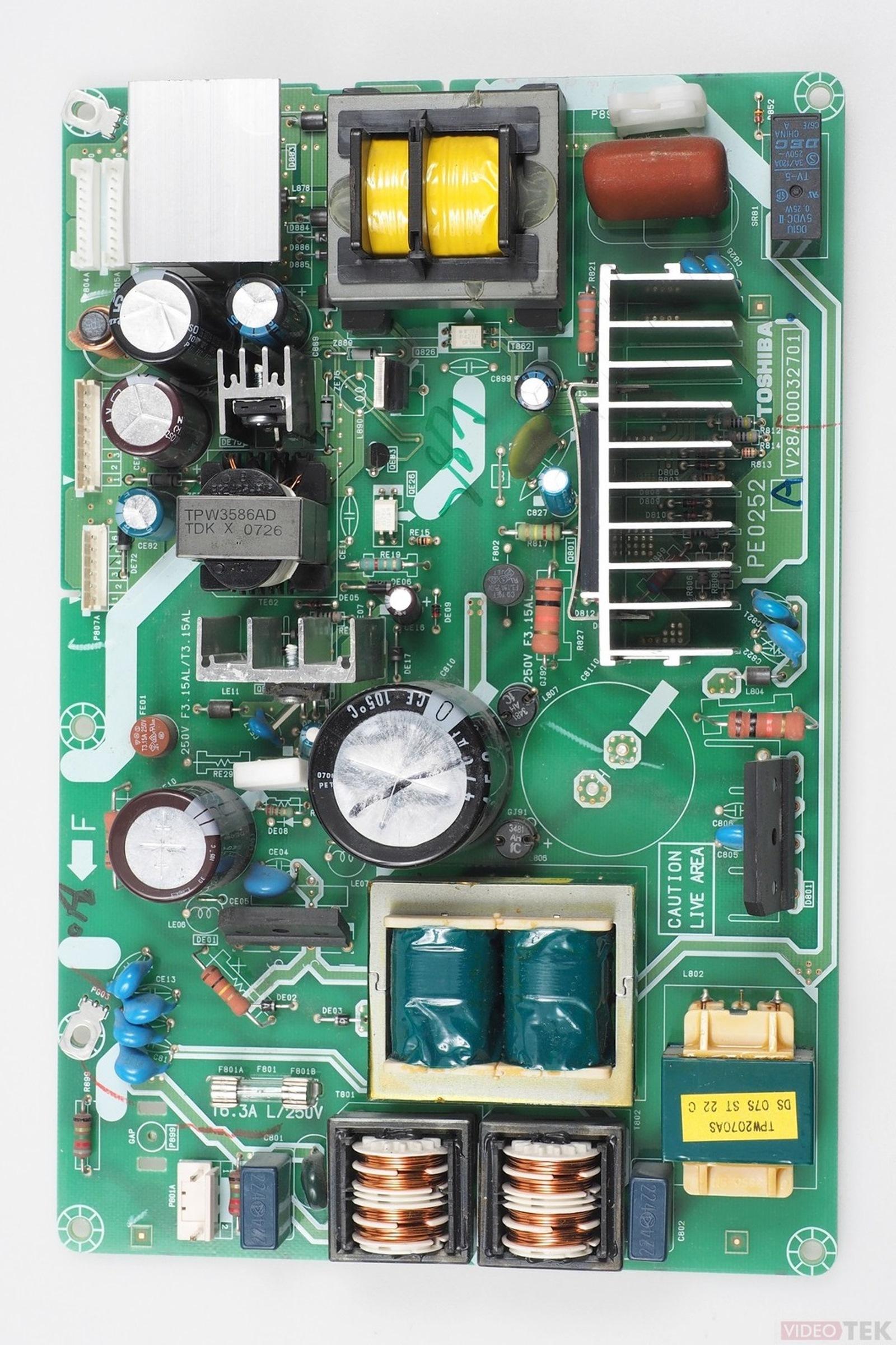 PL ALIM LCD TOSHIBA, V28A00032701 PE0252 75005838