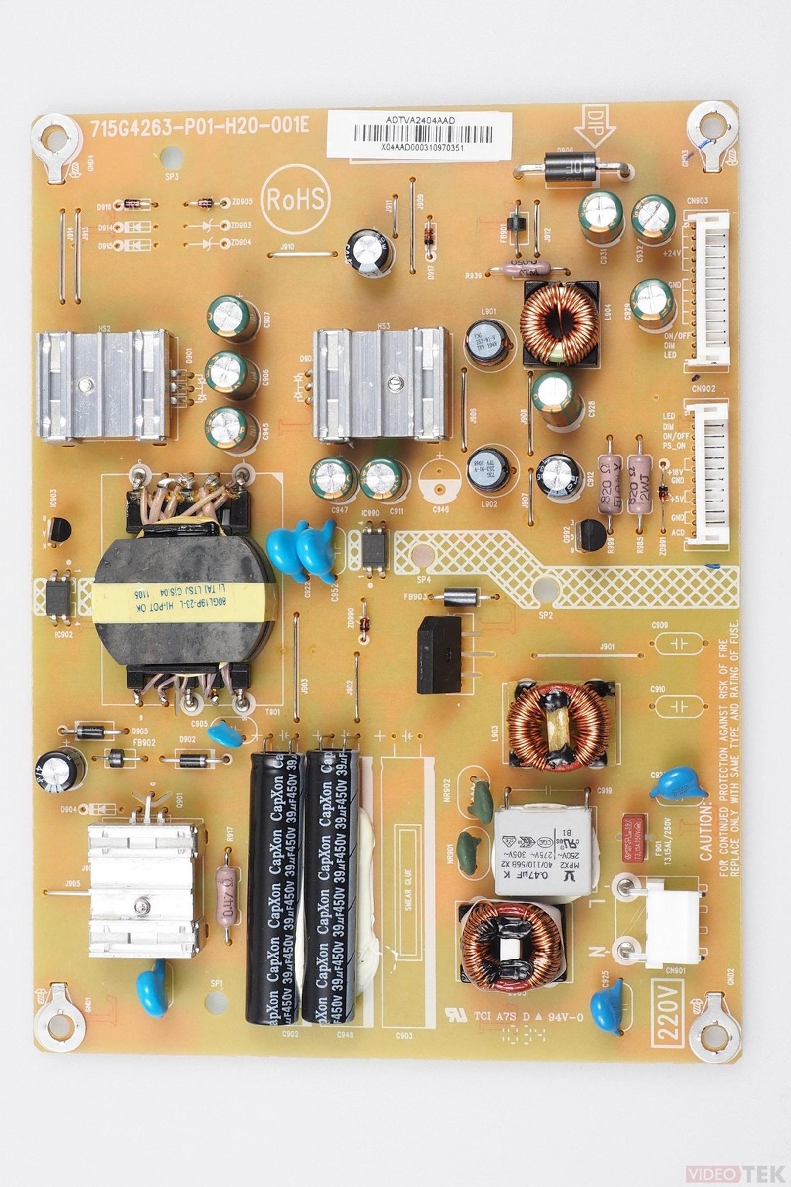 PL ALIM LCD TOSHIBA 715G4263-P01-H20-001E 75022447