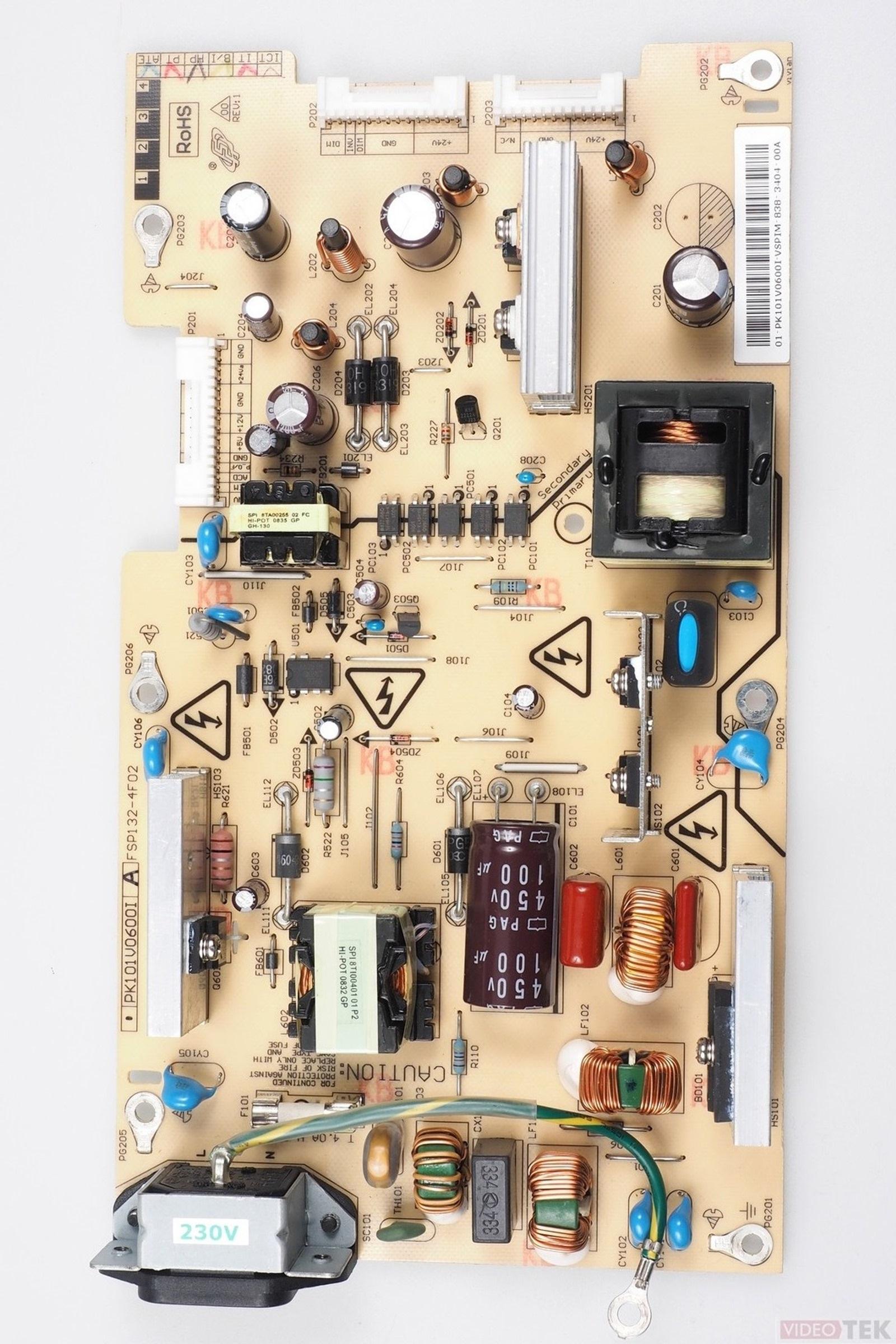 PL ALIM LCD TOSHIBA FSP132-4F02 PK101V0600I 75012358