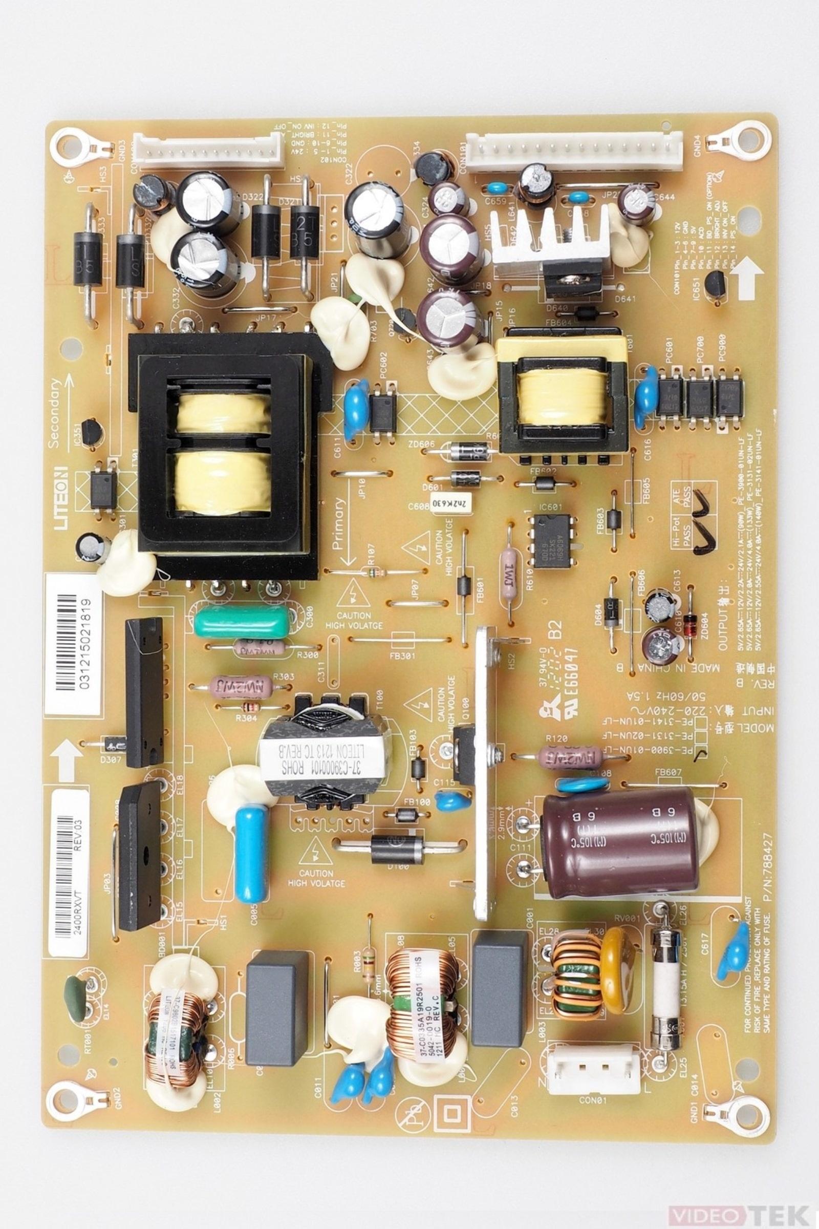 PL ALIM LCD TOSHIBA PE-3900-01UN-LF 75025229